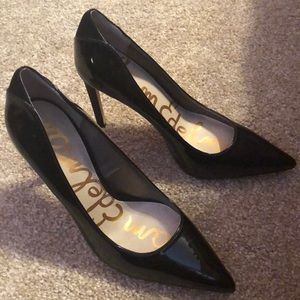 Sam Edelman Black Stilettos